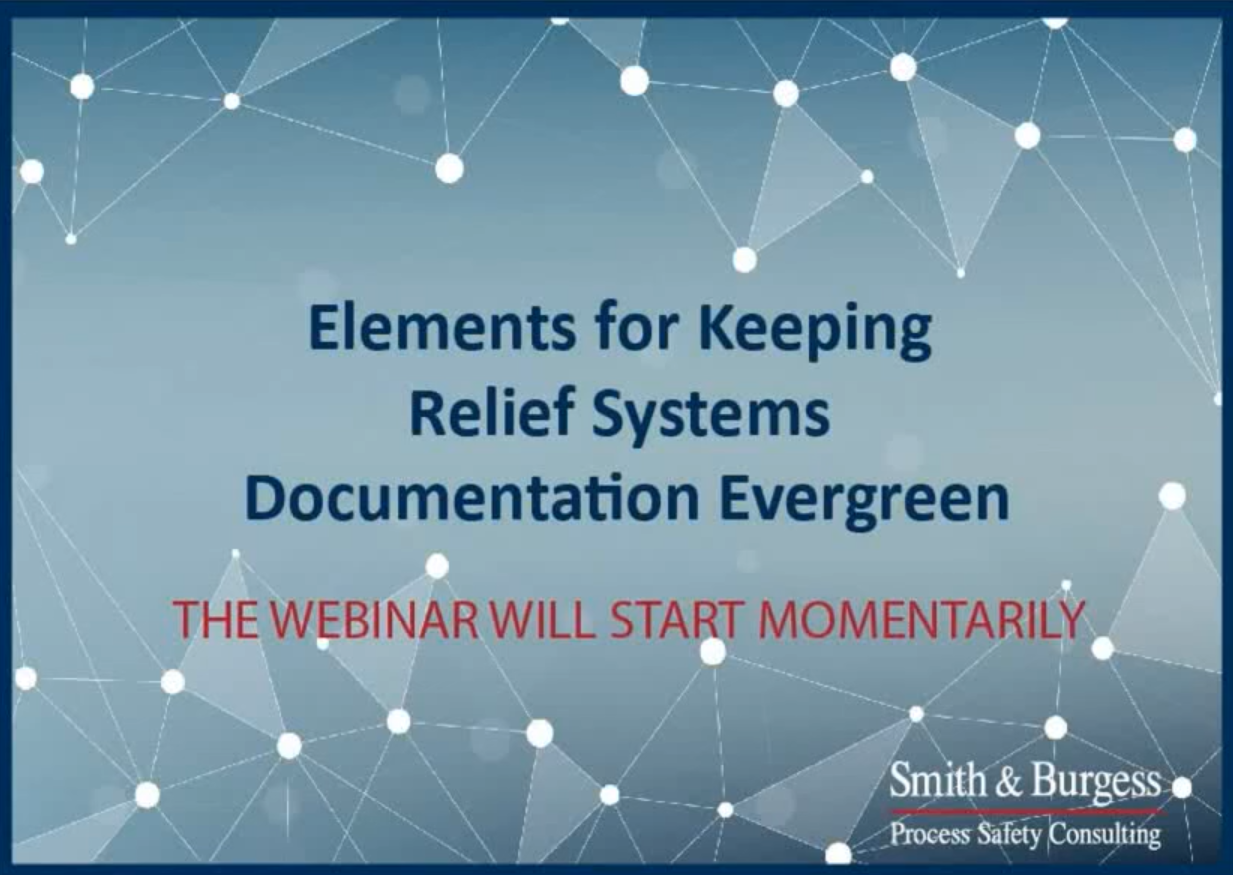 Elements for Keeping Relief Systems Documentation Evergreen