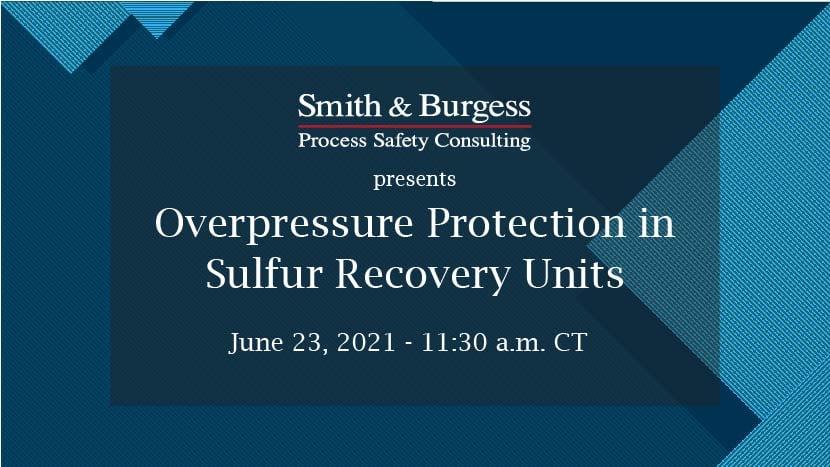 Overpressure Protection Webinar June 2021